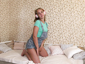 Small Tittied Teen Drika Is Striping And Playing With Herself
