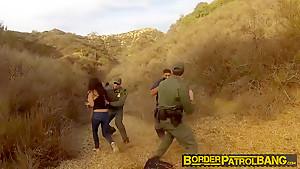 Busty Latin Floozie Alejandra Leon Fucks The Nasty Patrol