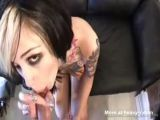 Punk Chick Anal At Porn Casting