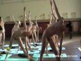 Naked Yoga Class