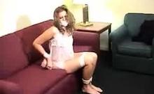 Super Amateur Schoolgirl In Secret Voyeur Place