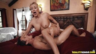 Slutty Milf Pounded Hard By A Muscular Stud