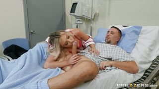 Satisfying The Horny Patient On The Hospital Bed