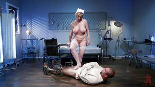 Busty Mistress Punishes Jonah Marx