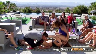 Pool Party With Swingers Gets Too Hot