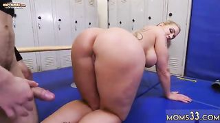 Sleeping Mom And Girl First Time Dominant MILF Gets A Creampie After Anal
