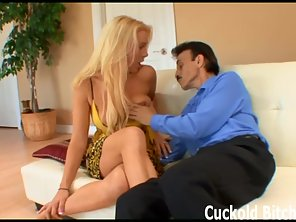 Hey My Little Cuckold Watch Me Get Fucked By A Real Man