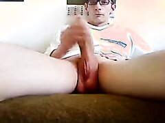 Nerd With An Impressive Cock