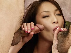Mei … Loves More Than One Cock In Her Tight Holes – More At ….net