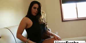 Alison Tyler Plays With Her Tight Hole