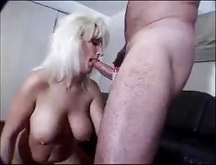 Milf Titty Fucks And Blows Cock