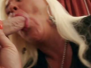Chubby Busty Horny Granny Gets Fucked