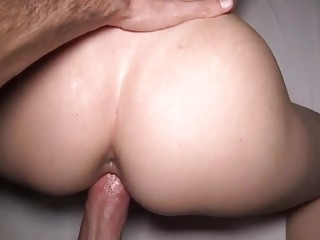 Girl Moaning While Being Pumped By A Big Cock