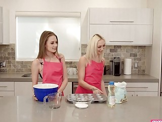 Cooking Show With Two Teen Stepsisters Becomes Way Too Hot