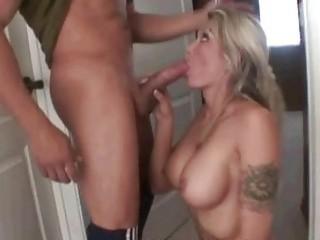 Milf Sucks Dick Before Bubble Fun Where She Gets Naked