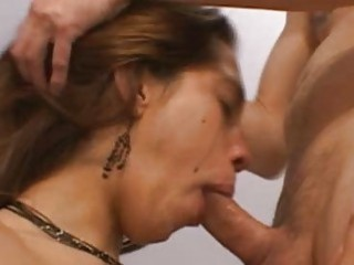 Latina Mouth Smashed With Cocks Because Thats All Shes Good For
