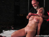 Kinky Dude Ties Up And Punishes Seductive Chubby Blondie Masie Dee