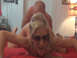 Amateur MILF And Hubby Getting Freaky In The Bedroom