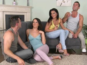 Bettina And Adele In A Foursome