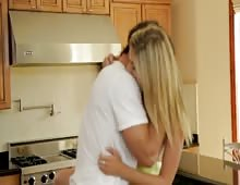 Horny Blonde Teen Lia Lor Gets Her Hairy Pussy Fucked And Squirted