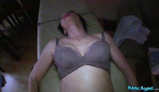Public Agent Getting Happy Ending In Massage Salon