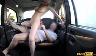 Inked Babe With Big Boobs Mila Milan Fucked In Fake Taxi