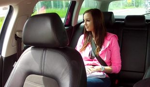 Busty Babe Natalie Hola Can't Pay For Her Ride In Fake Taxi