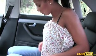 Exotic Euro Babe Isabella Chrystin Takes Thick Cock On Backseat Of Fake Taxi