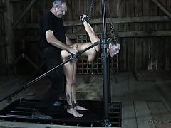 Bandaged Sex Slave Whore Kali Kane Gets Fucked By Her Ruthless Master