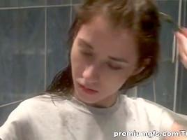 PremiumGFs Video: Teen Lesley Shows Nice Curves
