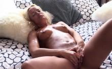 QUEST FOR ORGASM   Czech Blondie Cums In Hot Masturbation