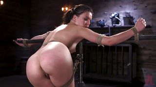 Juliette March Gets Whipped, Tortured And Humiliated In The Dark Dungeon