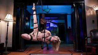 Busty Ebony Mistress Prefers Kinky Bdsm Tortures