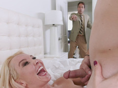 Aaliyah Love Being Facialed Is Caught By Her Husband