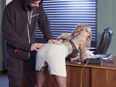 Karma Rx Gets Undressed And Blindfolded By Horny Guy