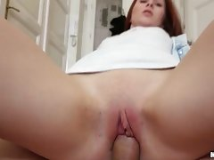 Horny Cutie Got All Her Holes Fucked Up