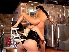 Nice Scene With The Mistress Kelly Summer, Playing With A Nice Brunette Sucking Her Pussy And Straping Her Mouth With A Chinese Red Balls, Then Dildoing That Horny Chick Until She Reach A Orgasm And Start Screaming Of Pleasure….
