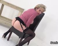 Unfaithful British Milf Lady Sonia Flaunts Her Big