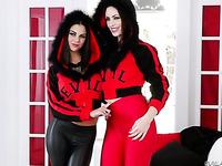 Mozenrath Presents : Sexy Busty Bonnie Rotten And Sarah Shevon Sexy Red Girls Casting