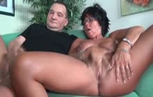 Mature Couple Fucking And Jerking