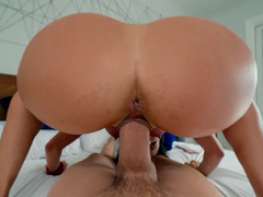 Alexis Fawx Shakes Her Amazing Butt On The Stiff Dick In POV