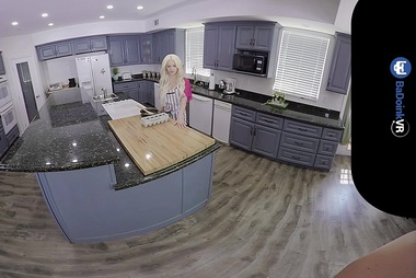 BaDoinkVR Fuck Natural Titted Blonde Elsa Jean In POV