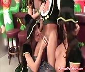 Hot Irish Girls In Costumes Group Sex