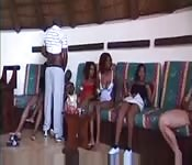 Black African Beauties In Group Party Sex