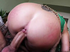 Phoenix Madina Gets Her Big UK Booty And Cunt Manhandled