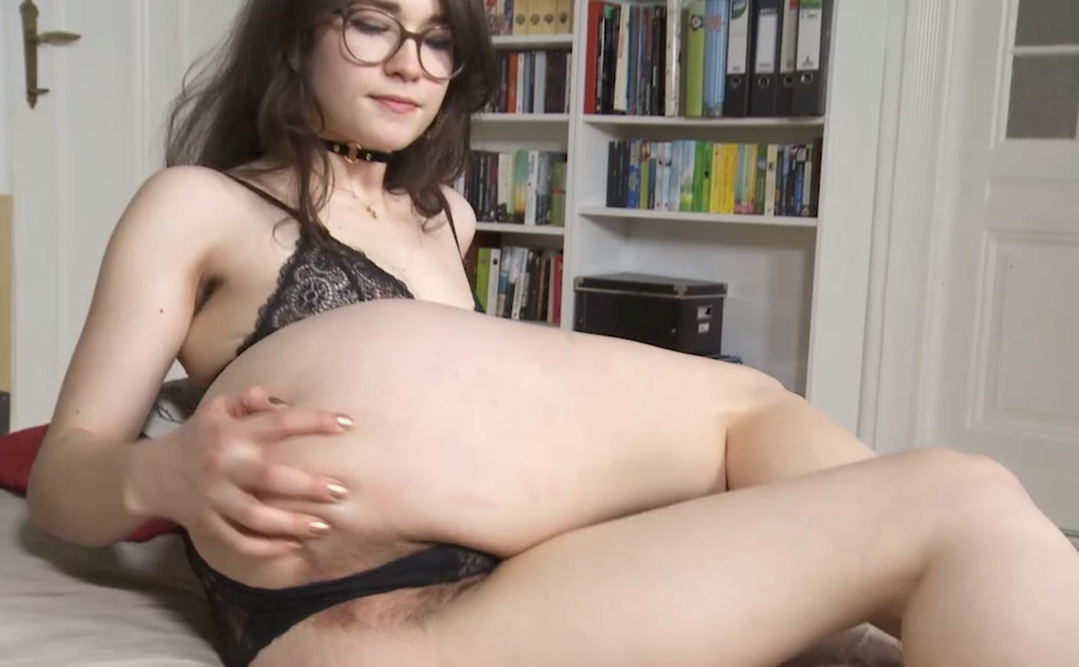 Dirty Brunette Masturbates Hardly