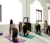 Lesbian Yoga Instructor