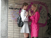 Young Czech Chick Alexis Crystal Takes Part In Foursome Scene For Money