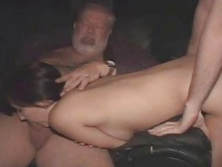 Gangbanged Freak Risky Public Sex And Everyone Uses Her