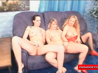 Three Dirty Sluts Playing Dirty Sex Games Together